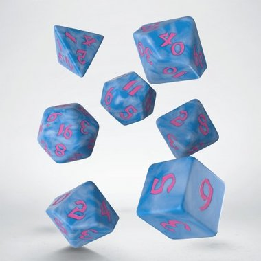 Classic Runic Dice Set Glacier & Pink (7)