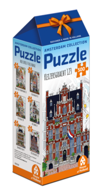 Amsterdam Collection: Keizersgracht 123 - Puzzel (500)