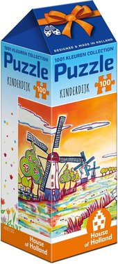 Amsterdam Collection: Kinderdijk - Puzzel (500)