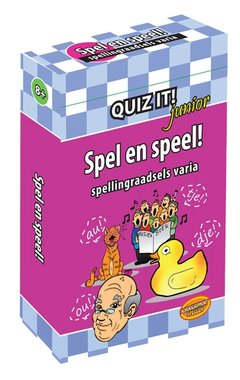 Quiz It! Junior: Spel en speel! (Spellingraadsels varia)
