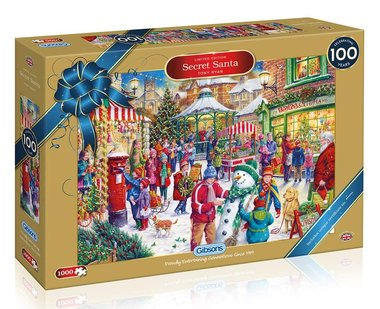 Secret Santa (Limited Edition) - Puzzel (1000)