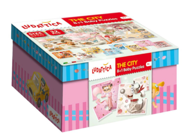 Baby Puzzles: The City (8x4)