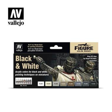 Black & White Painting Set (Vallejo)