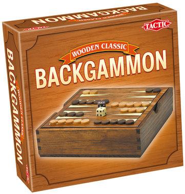 Wooden Classic: Backgammon