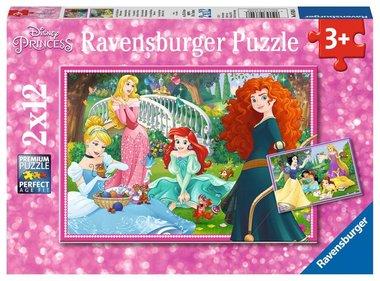Disney Princess: In de wereld van de Disney Prinsessen - Puzzel (2x12)