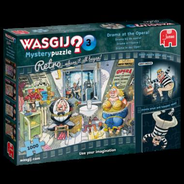 Wasgij Mystery Puzzel Retro (#3): Drama bij de opera! (1000)