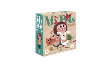 I Love My Pets - Reversible Puzzles (7x3)