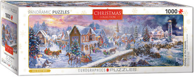 Holiday at the Seaside - Panorama Puzzel (1000)