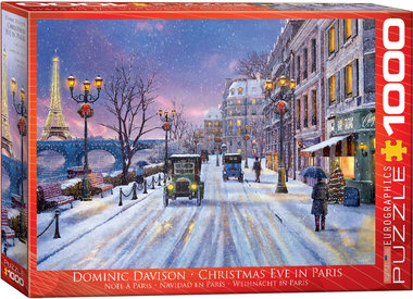 Christmas Eve in Paris - Puzzel (1000)