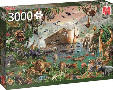 De Ark van Noah - Puzzel (3000)
