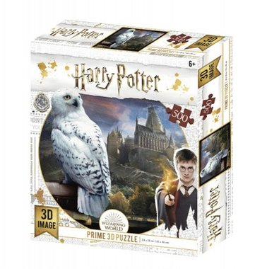 Harry Potter: Hedwig - Prime 3D Puzzle (500)