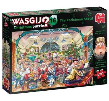 Wasgij Christmas Puzzel (#16): De Kerstshow (2x1000)