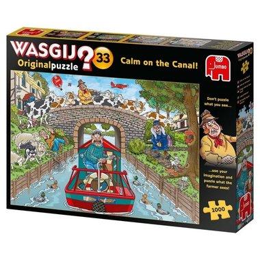 Wasgij Original Puzzel (#33): Kalm op het Kanaal! (1000)