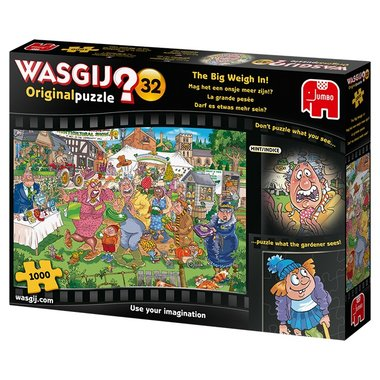 Wasgij Original Puzzel (#32): Mag het een onsje meer zijn!? 1000)