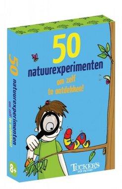 50 natuurexperimenten om zelf te ontdekken!