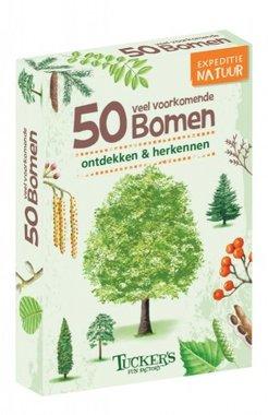 50 veel voorkomende bomen: ontdekken & herkennen