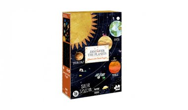 Discover the Planets - Glow in the Dark Puzzle (200)