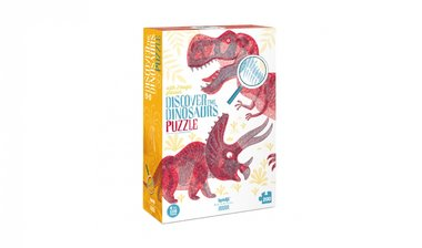 Discover the Dinosaurs - Magic Glasses Puzzle (200)