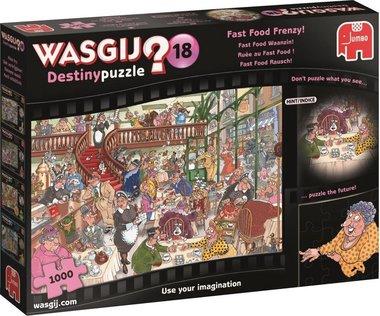 Wasgij Destiny Puzzel (#18): Fast Food Waanzin! (1000)