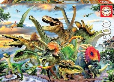 Dinosaurs - Puzzel (500)