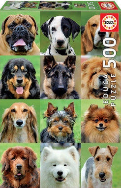 Dogs Collage - Puzzel (500)