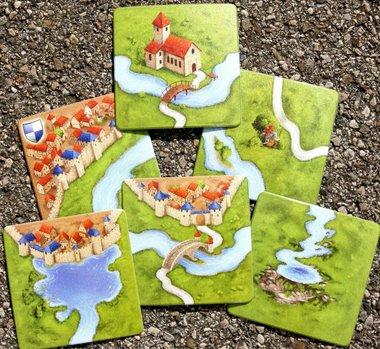 Carcassonne: Coaster Set