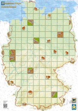 Carcassonne Maps: Deutschland
