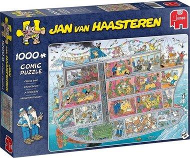 Cruiseschip - Jan van Haasteren Puzzel (1000)