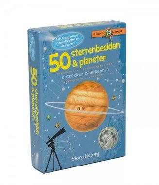 50 sterrenbeelden & planeten: ontdekken & herkennen