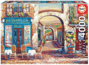 Le Petit Café - Puzzel (4000)