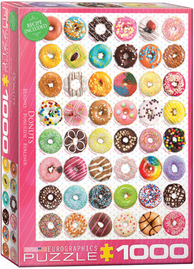 Donuts - Puzzel (1000)