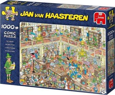 De Bibliotheek - Jan van Haasteren Puzzel (1000)