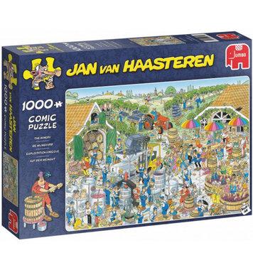 De Wijngaard - Jan van Haasteren Puzzel (1000)