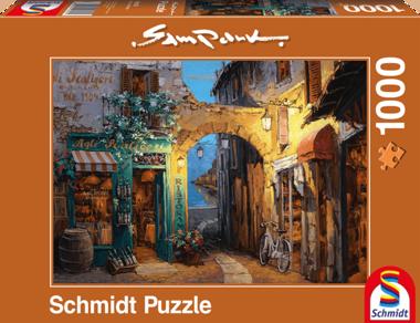 Laantjes aan het Comomeer (Sam Park) - Puzzel (1000)