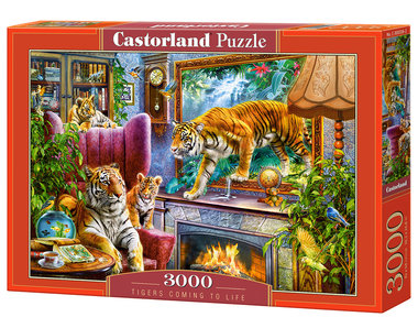 Tigers Coming to Life - Puzzel (3000)