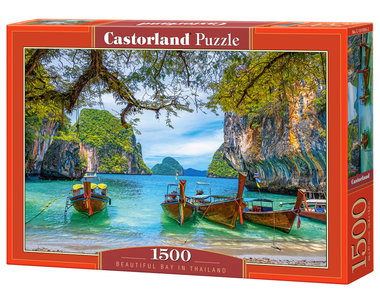 Beautiful Bay in Thailand - Puzzel (1500)