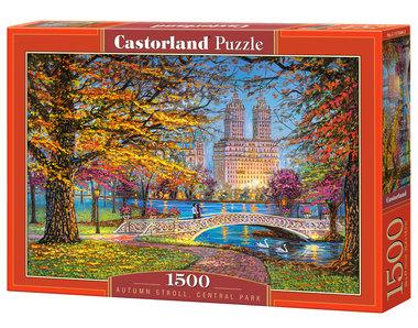 Autumn Stroll, Central Park - Puzzel (1500)