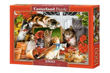 Kittens Play Time - Puzzel (1500)