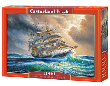 Sailing Against All Odds - Puzzel (1000)