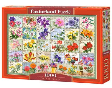 Vintage Floral - Puzzel (1000)