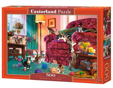 Naughty Kittens - Puzzel (500)