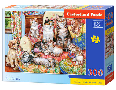 Cat Family - Puzzel (300)