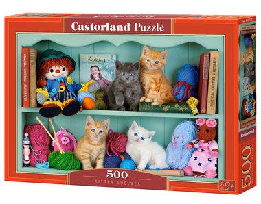 Kitten Shelves - Puzzel (500)