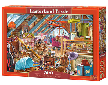 The Cluttered Attic - Puzzel (500)
