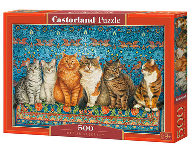 Cat Aristocracy - Puzzel (500)