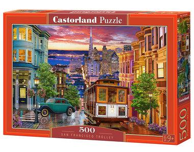 San Francisco Trolley - Puzzel (500)