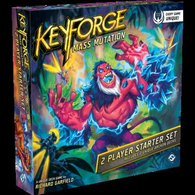 KeyForge: Mass Mutation (Two-Player Starter Set)