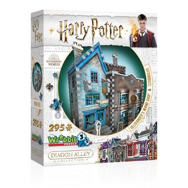 Harry Potter: Ollivander's Wand Shop & Scribbulus - Wrebbit 3D Puzzle (295)