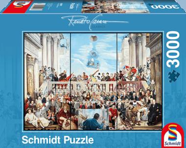 Zo vergaat de roem van de wereld (Renato Casaro) - Puzzel (3000)