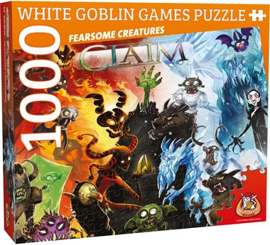 Claim Puzzel: Fearsome Creatures (1000)
